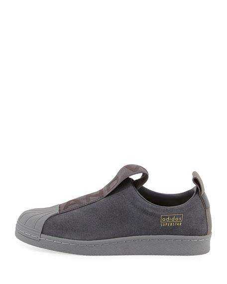 Superstar Slip-On Suede Sneaker, Gray
