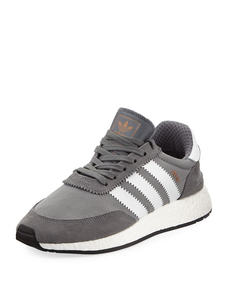 Adidas Iniki Vintage Runner Sneaker, Gray