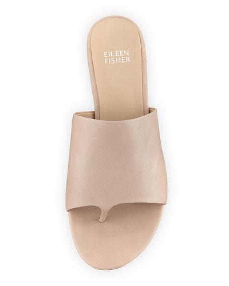 Beal Wide-Band Slide Sandal, Sand