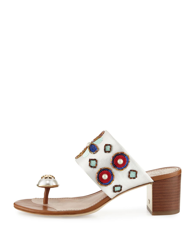 Tory Burch Estella Leather Wedge Sandal e1GVKe