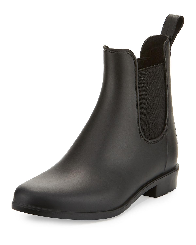 03cc104ea77461 Sam Edelman Tinsley Gored Matte Ankle Rain Boot