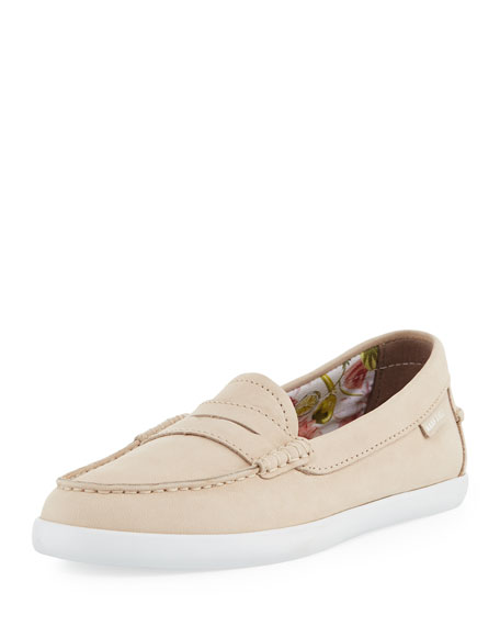 Pinch Grand Weekender Leather Loafer, Sand