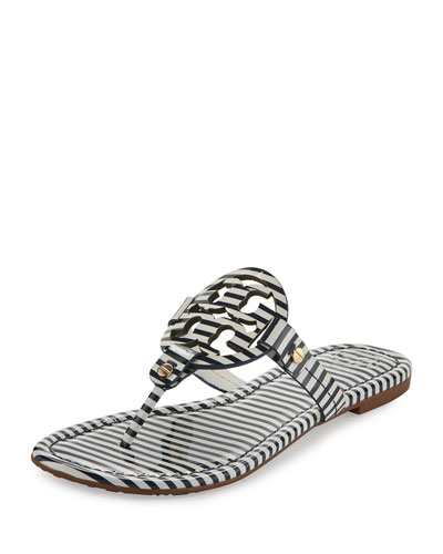 Flat Sandals Slide Amp Thong At Neiman Marcus