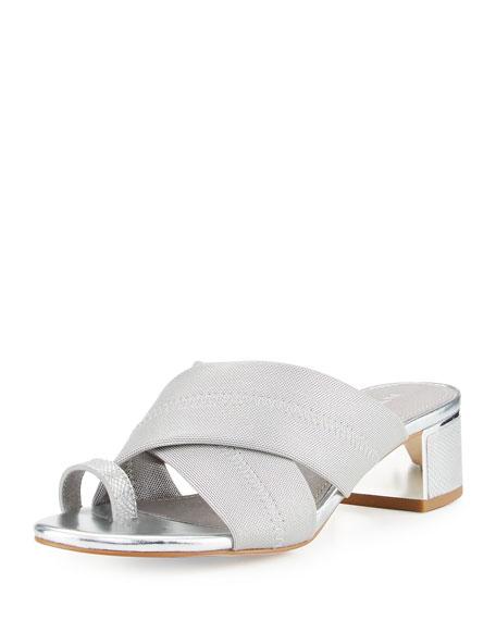 Donald J Pliner Toto Toe Ring Low-Heel Sandal,