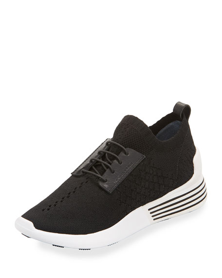 Kendall + Kylie Brandy Woven Fabric Trainer, Black