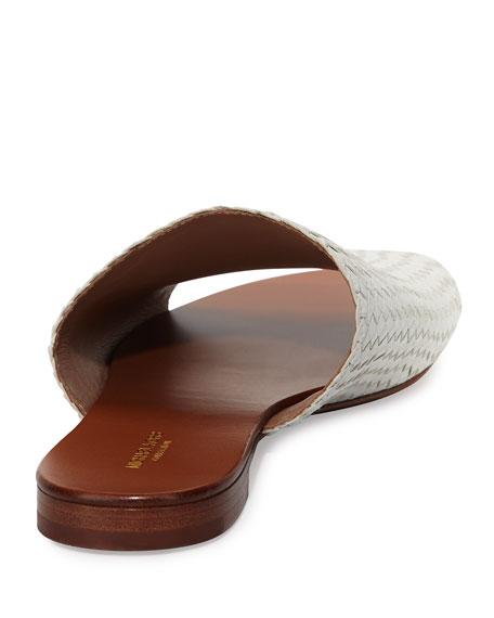 Byrne Woven Flat Slide Sandal