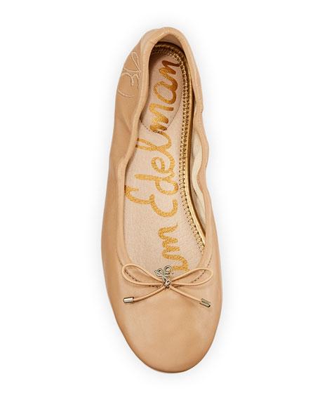 Felicia Embroidered Ballerina Flat