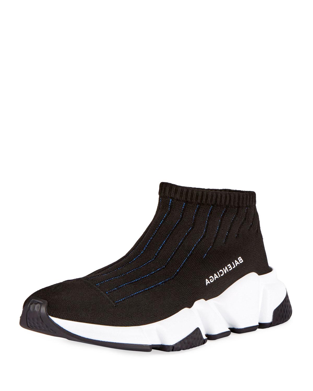 e64a9005c72 Balenciaga Knit Sock High-Top Sneakers