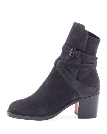 Kari Suede Red Sole Boot