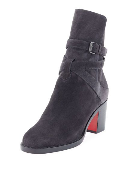 Kari Suede Red Sole Boots