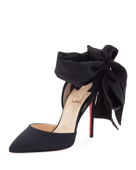 Christian Louboutin Douce du Desert Red Sole Pump,