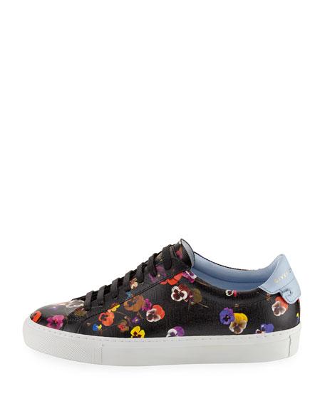 Urban Knots Floral-Print Low-Top Sneaker, Multi