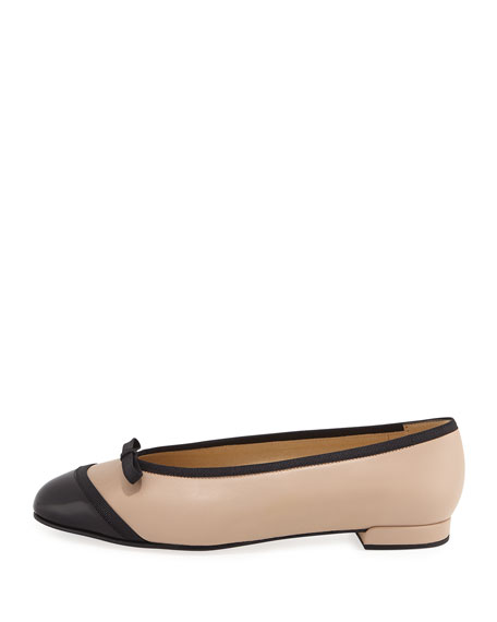 Capture Napa Leather Ballerina Flat