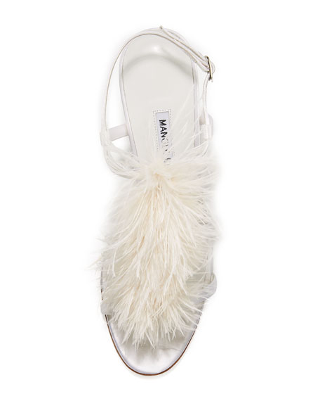 Elia Feather T-Strap 105mm Sandal