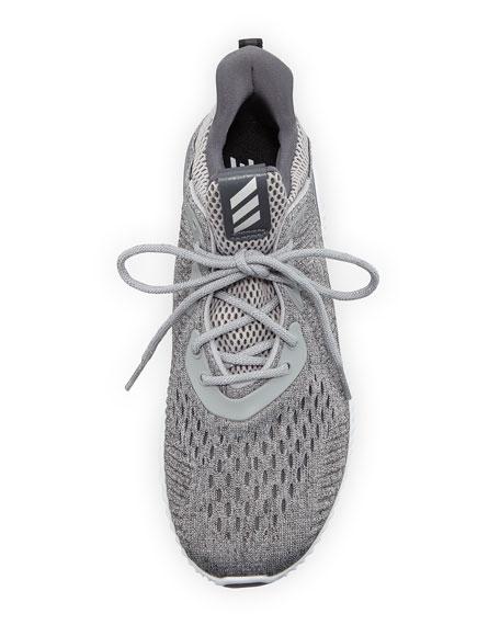 Alphabounce EM Knit Running Sneaker, Gray