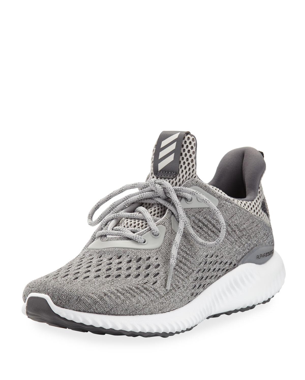 cheap for discount c7b3d 2d133 AdidasAlphabounce EM Knit Running Sneaker, Gray