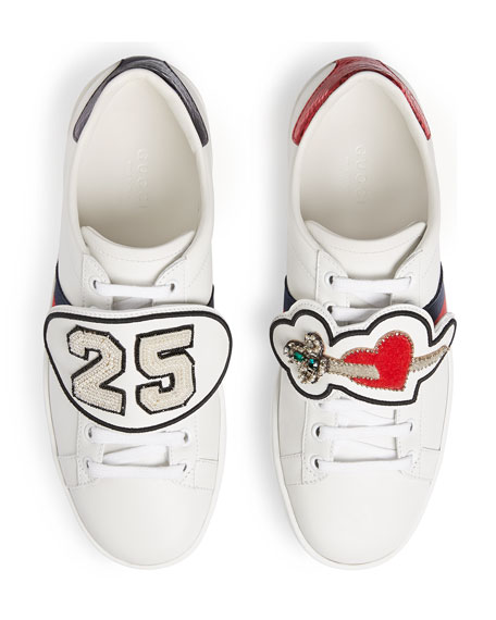 Number 25 Sneakers, White