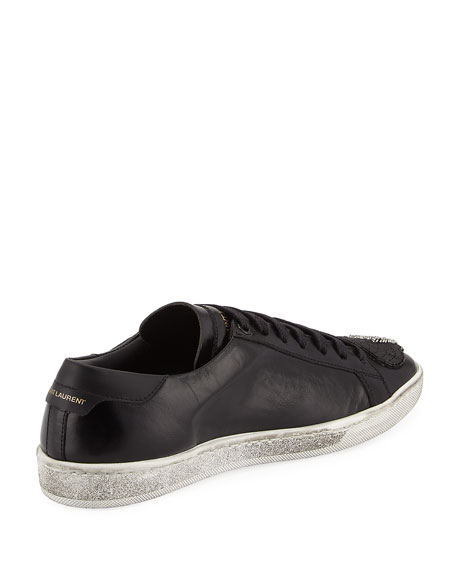 Court Classic Patchwork Sneakers, Black