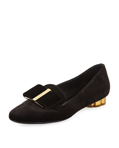 Velvet Vara Loafer, Nero