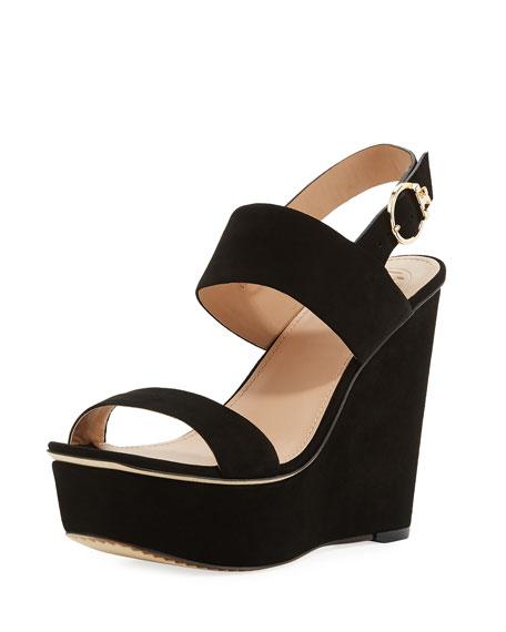 Loretta Platform Wedge Sandal