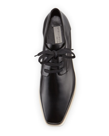 Elyse Platform Oxford, Black