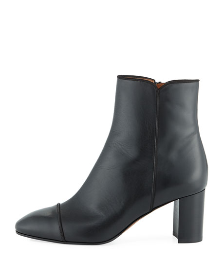 Everleigh Calf Zip Ankle Boot