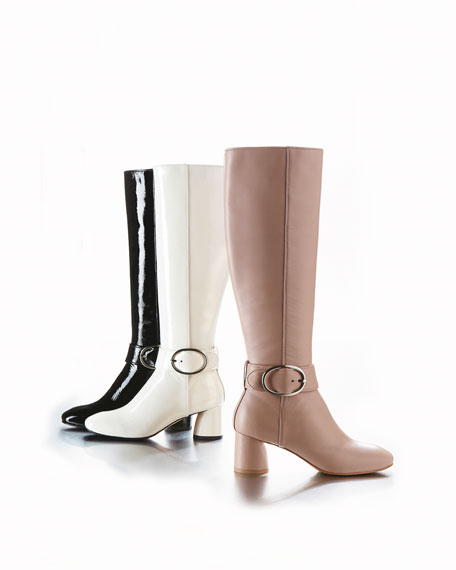 Caye Patent Leather Boot