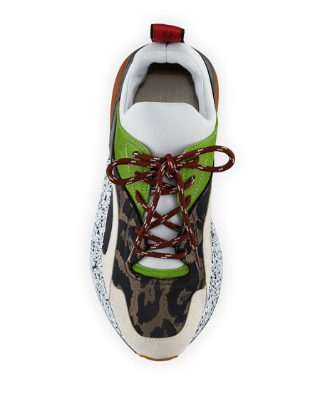 Runway Leo Lace-Up Sneaker
