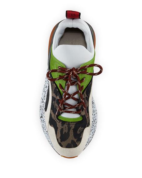 Runway Leo Lace-Up Sneaker