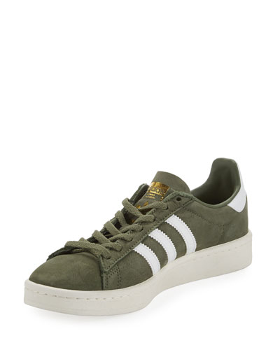 Campus Suede Lace-Up Sneaker, Green