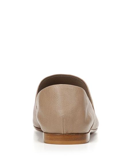 Maude Leather Slip-On Loafer, Gull