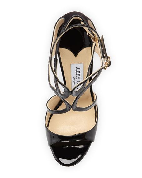 Lang Patent Strappy Sandal