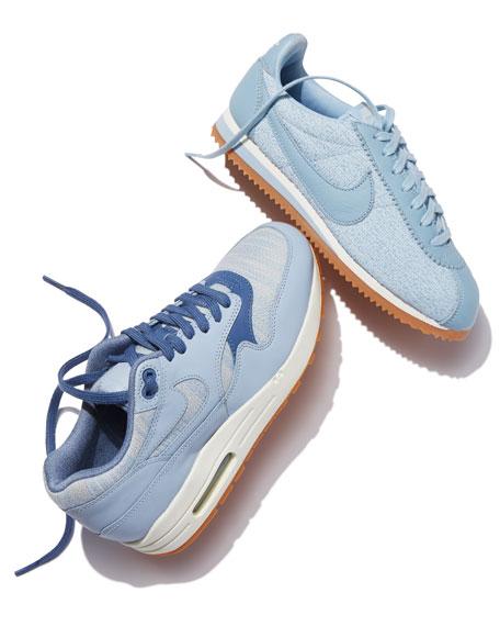 Women's Air Max 1 Premium Sneaker, Light Blue