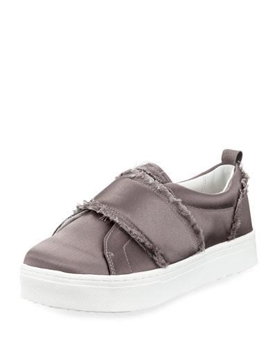Levine Satin Platform Sneaker