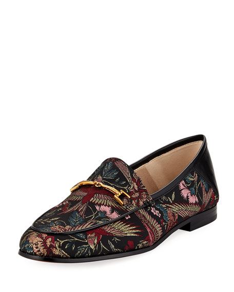 Sam Edelman Loraine Horsebit Bird Jacquard Loafer