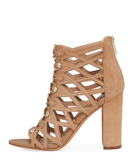 Yeager Military Caged Bootie