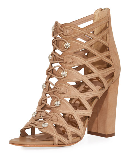 Sam Edelman Yeager Military Caged Bootie