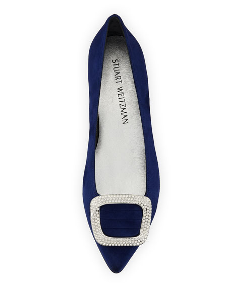Marqueeflat Suede Ballet Flat