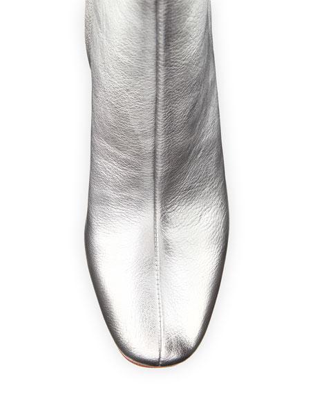 Wilder Metallic Zip Bootie