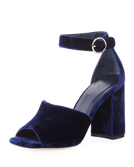 Lahoma Velvet 90mm Sandal