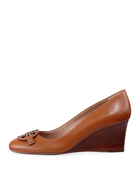 Miller Smooth Leather 65mm Wedge Pump