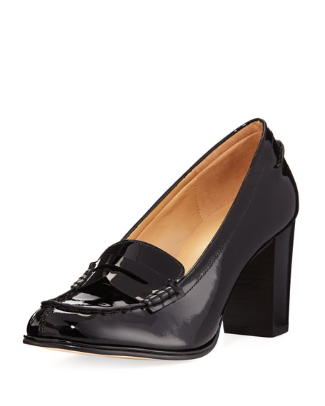 MICHAEL Michael Kors Bayville Patent Leather Loafer Pump