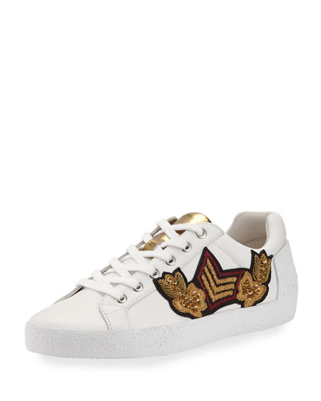 Ash Nak Arms Embroidered Sneaker