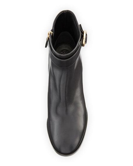 Sofia Leather 60mm Dress Bootie