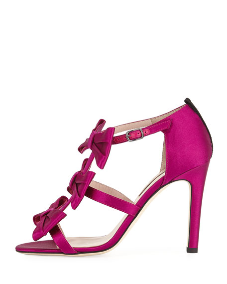 Yesenia Satin Bow 100mm Pump
