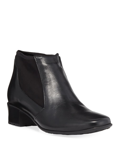 Sesto Meucci Yuma Zip-Up Gored Bootie, Black