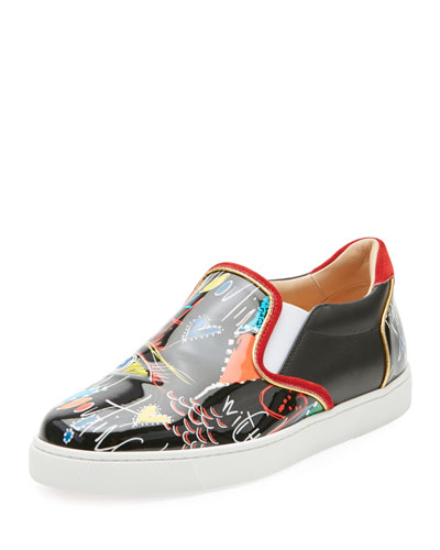 low priced 5d40b 78a64 Christian Louboutin Masteralta Patent Red Sole Sneaker from ...