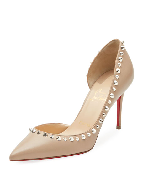 Irishell Studded Red Sole Pump