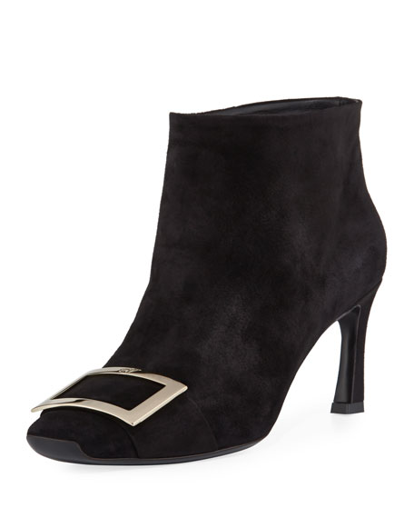 Trompette Extra Low Suede Bootie