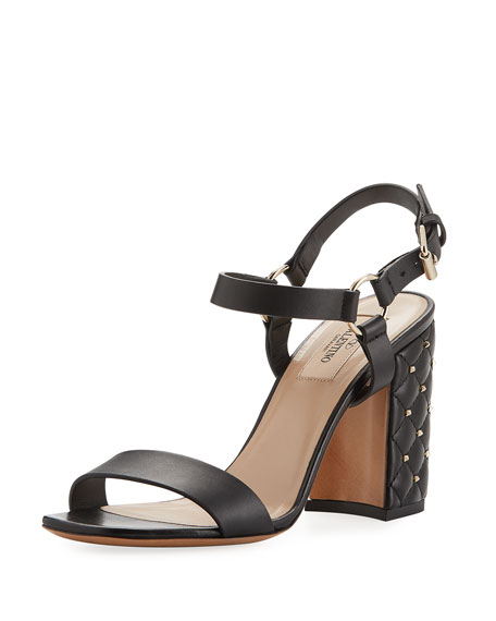 Valentino Garavani 90MM ROCKSTUD SPIKE CITY HEE